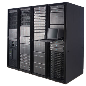 Image of server bank, professional IT disaster recovery by Service IT Direct