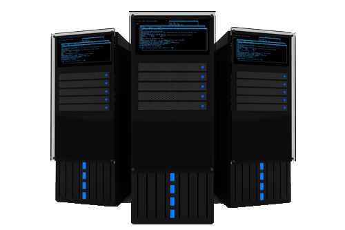 Three servers, we are data center relocation specialists