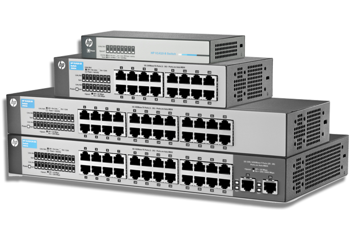 HP / HPE switches, professional HP network services by Service IT Direct